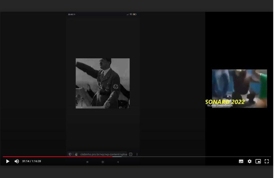 Ato virtual do PCdoB Cuiabá sofre ataque nazifascista