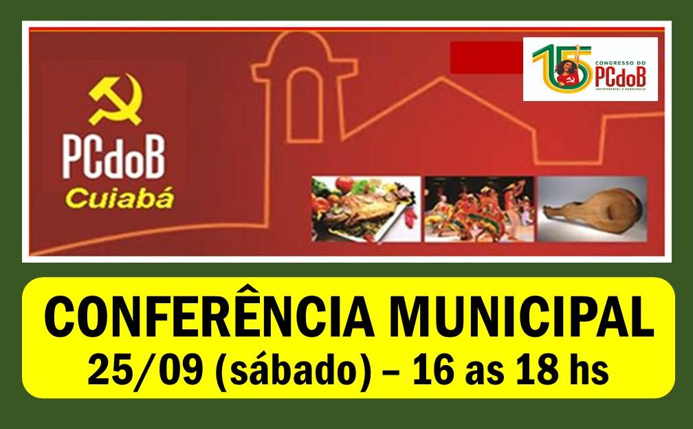 EDITAL DE CONVOCAÇÃO CONFERENCIA PCdoB/Cuiabá